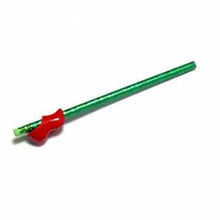 roter Clog-Bleistift