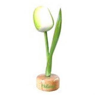 Holz Tulpe zu Fuß in weiß