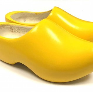 Gele kinderklompen