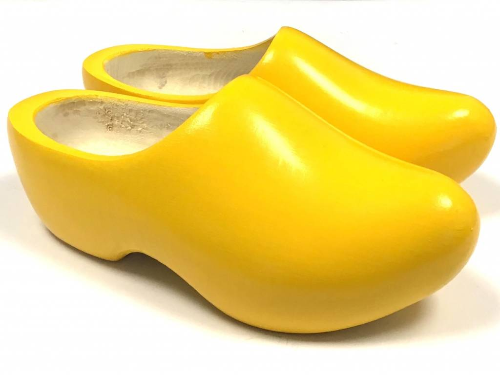 wooden shoes delivered directly from stock