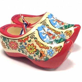 souvenirs clogs red sole 10cm