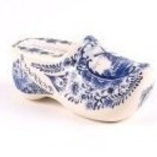 clog with thermometer | Original Delft Blue clog with a thermometer