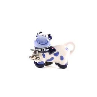 Magneet delftsblauw koe