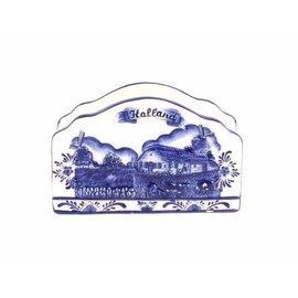 servethouder delftsblauw