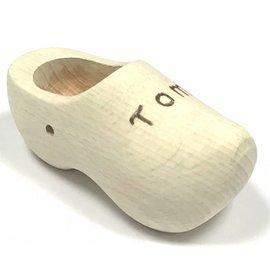 Souvenir clog with engraving (14 cm).