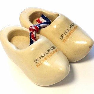 Souvenir clogs with text 10 cm