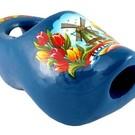 Tie Clog in blue 8cm
