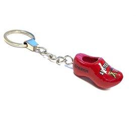 Schlüsselring Clog mit Text