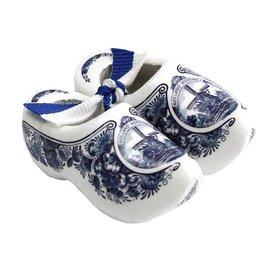 souvenirs klompjes Delfts blauw 10cm
