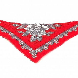 burp cloth farmer motif