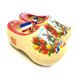 souvenirs klompjes 10cm met foto
