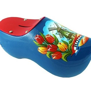 Moneybox clog with photo
