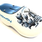Moneybox clog with logo