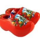 souvenirs klompjes 6 cm oranje tulp