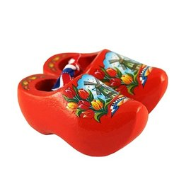 souvenirclogs  6 cm orange tulip