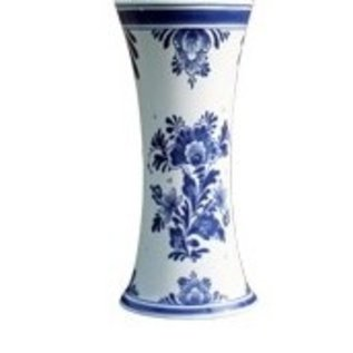 delft blue vase | Original Delft vlue vase with Holland image