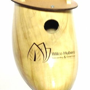 Birdhouse clog with logo