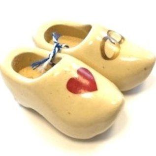 souvenir clogs with photo 14cm