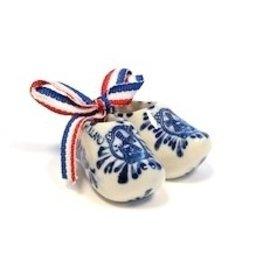 souvenirs klompjes Delfts blauw 5.5cm