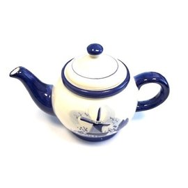 Delftware-Teekanne