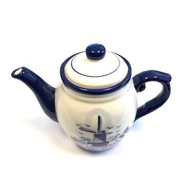 Delft blue coffee pot