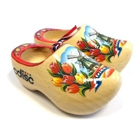 souvenirs clogs with logo 14 cm