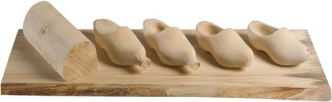 How are your wooden shoes made?