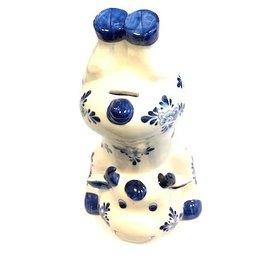 Spaarpot delftsblauw koe