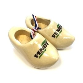 Souvenir clogs with logo 8cm