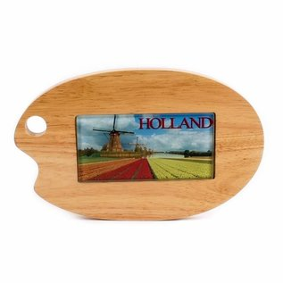 Cheese board palette glass tile Holland