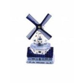 Andenken Schreibmühle delft blau 10 cm