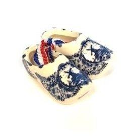 souvenirs clogs Delft Blue 5cm
