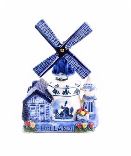 De eeuwig leuke Delftsblauwe molens