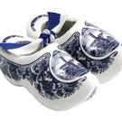 Souvenirs holzschuhe Delfter Blau 6cm