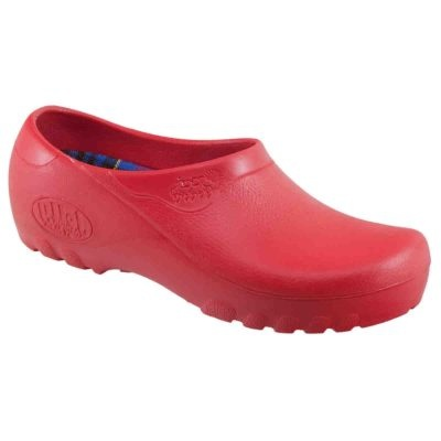 Rote Damen Clogs