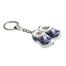 Schlüsselbund Clog Delfter Blau