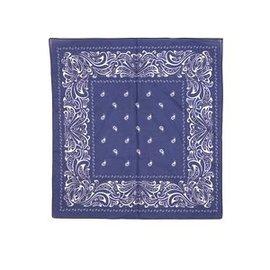 Boerenzakdoek donkerblauw groot