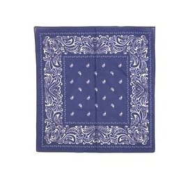 Farmer handkerchief dark blue large