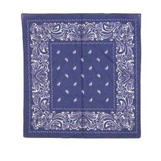 Farmer handkerchief dark blue large