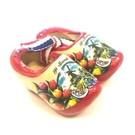 souvenir clogs 5 cm rote sohle