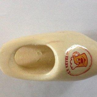 Tie clog with logo 6cm