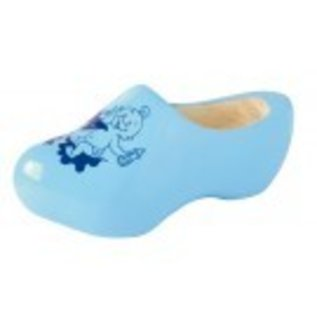 baby clogs in the color blue.