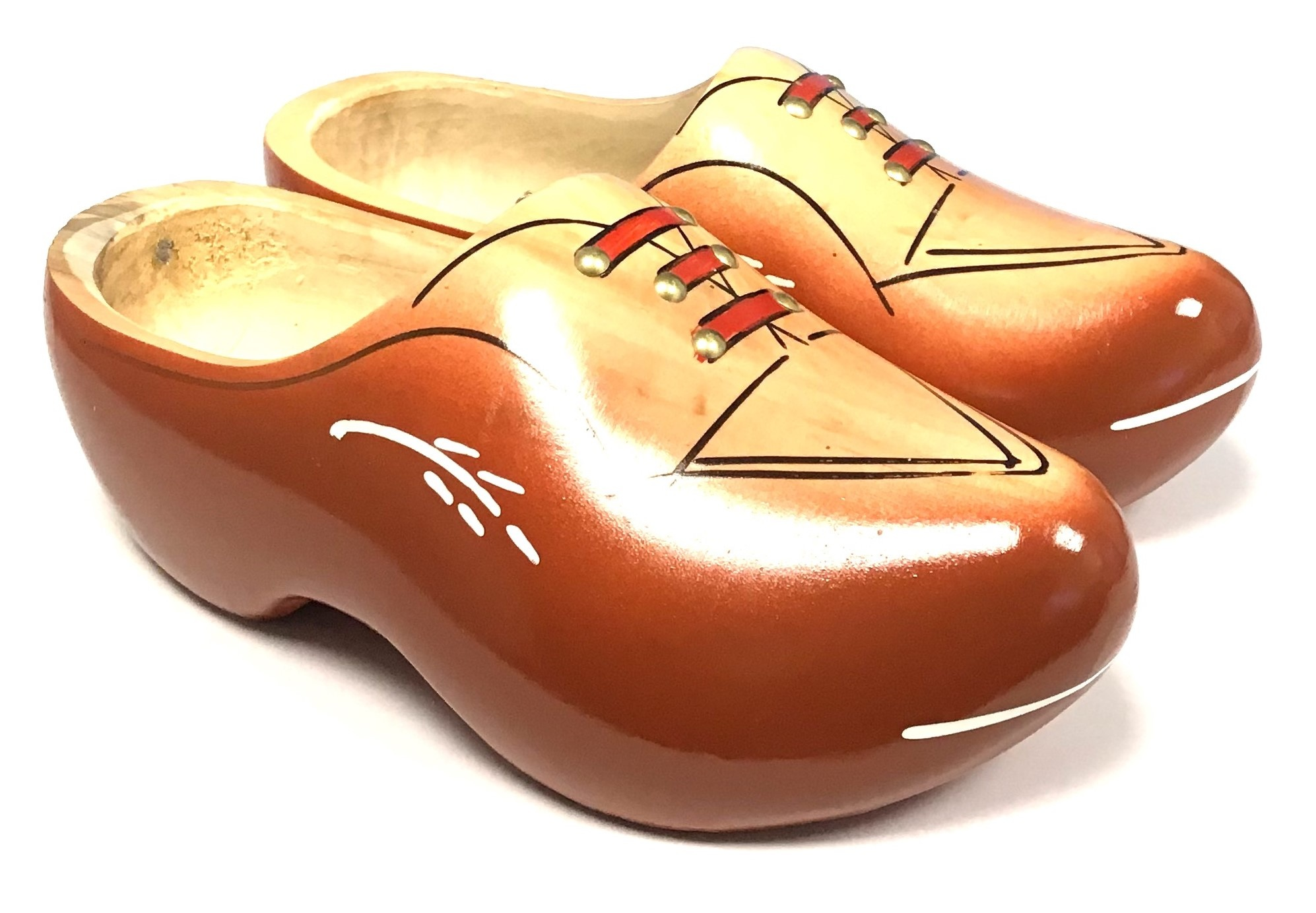 Robust wooden shoes