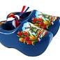 Souvenirclogs blue 14cm
