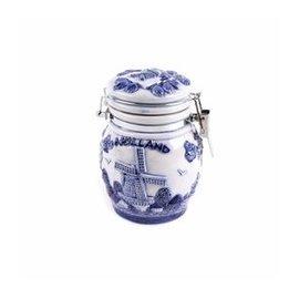 Delft blue weck jar Holland
