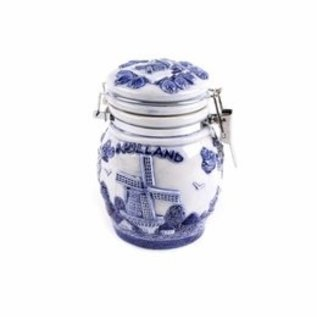 Delft blue weck jar Holland