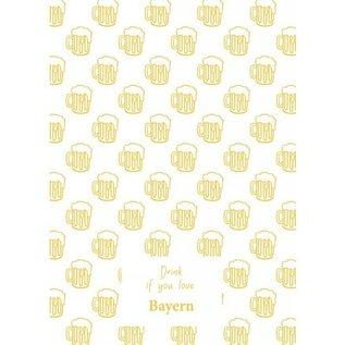 Geschirrtuch Bierkrug