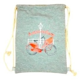 Backpack bicycle cotton