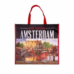 Boodschappentas Amsterdam fiets
