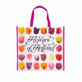 Boodschappentas Hollandse bloemen